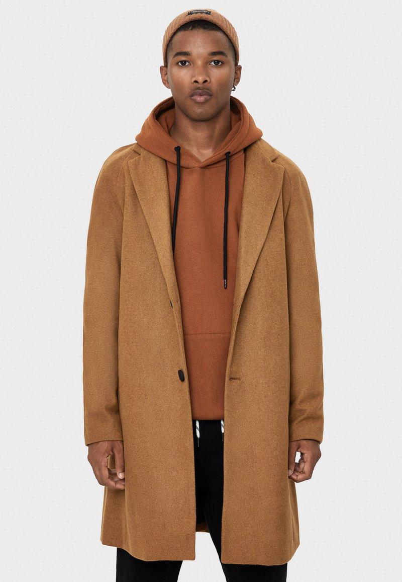 Bershka - Manteau classique - brown