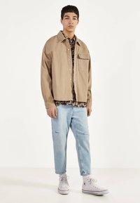 Bershka - Denim jacket - beige - 1