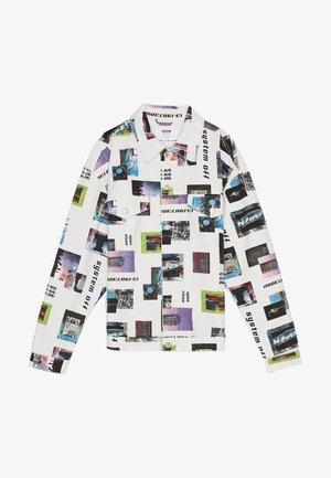 MIT FOTOPRINT - Lehká bunda - white