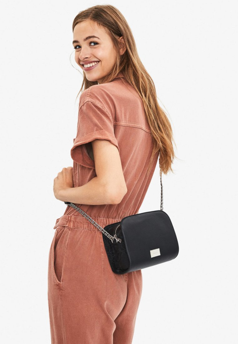 Bershka - Across body bag - black