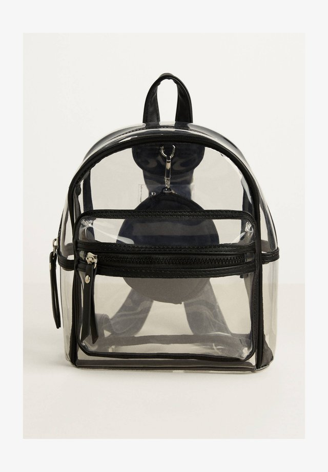TRANSPARENTER - Rucksack - black