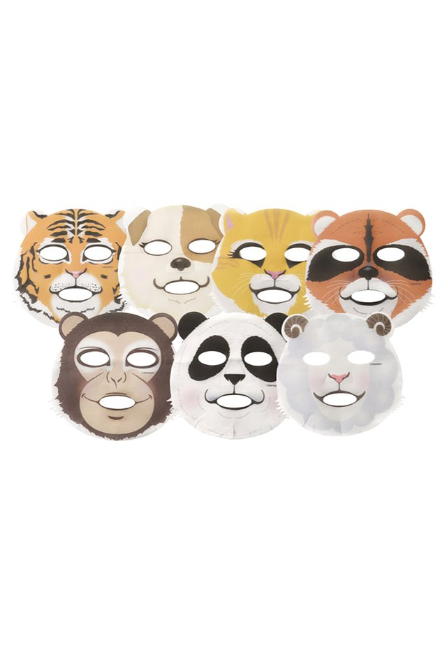 ANIMAL MASK PACK 7 MASKS - Set de soins du visage - -