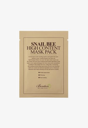 SNAIL BEE HIGH CONTENT MASK 2 PACK - Gesichtsmaske - neutral