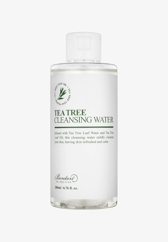 TEA TREE CLEANSING WATER 200ML - Nettoyant visage - -