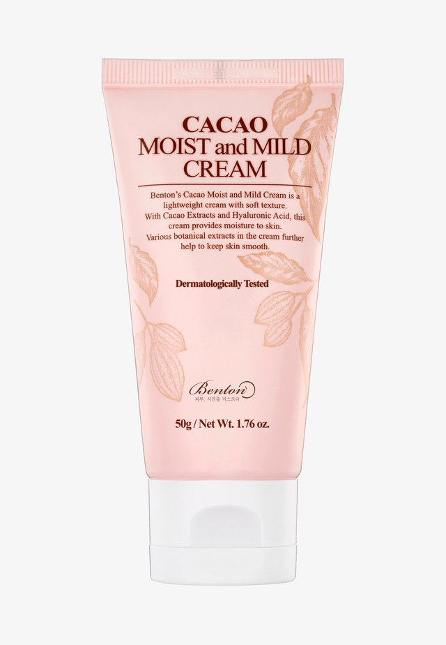 CACAO MOIST AND MILD CREAM  - Soin de jour - -