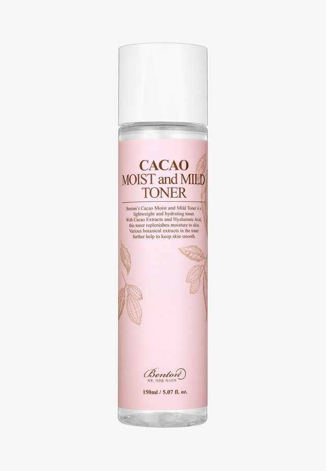 CACAO MOIST AND MILD TONER  - Lotion visage - -