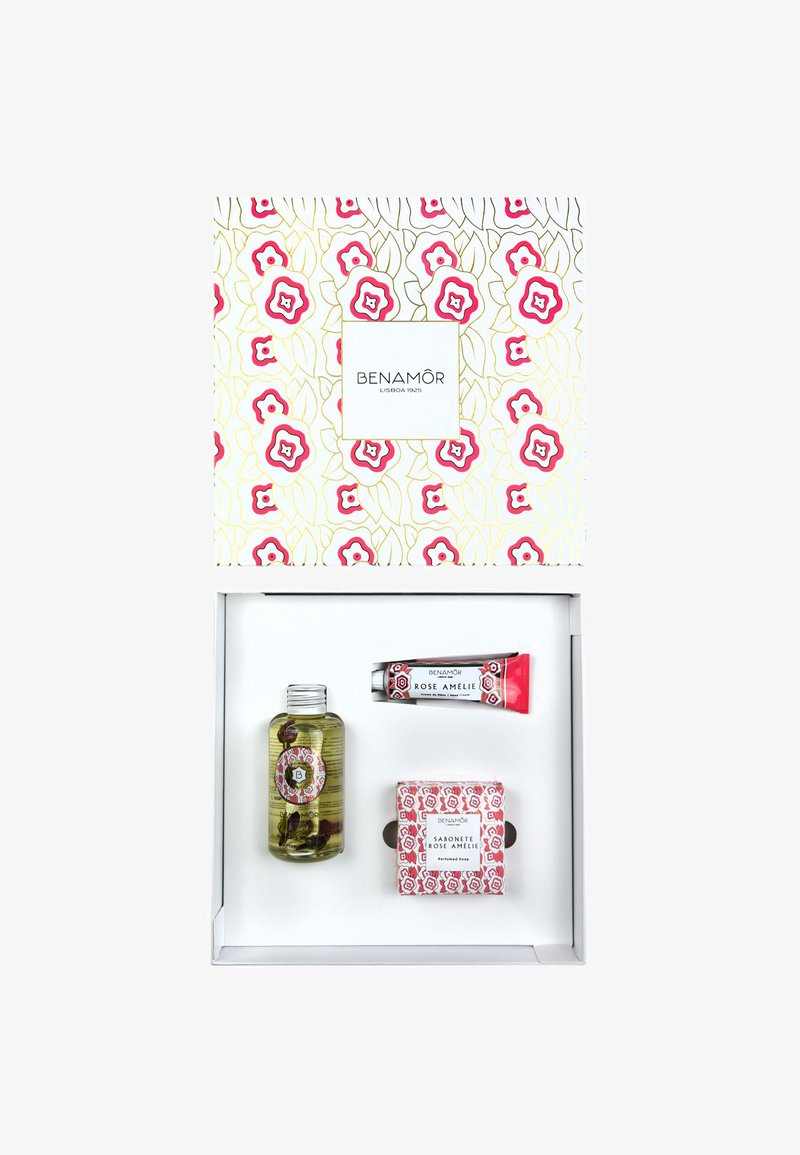 Benamor - GIFT BOX BODY OIL - Bad- & bodyset - rose amélie