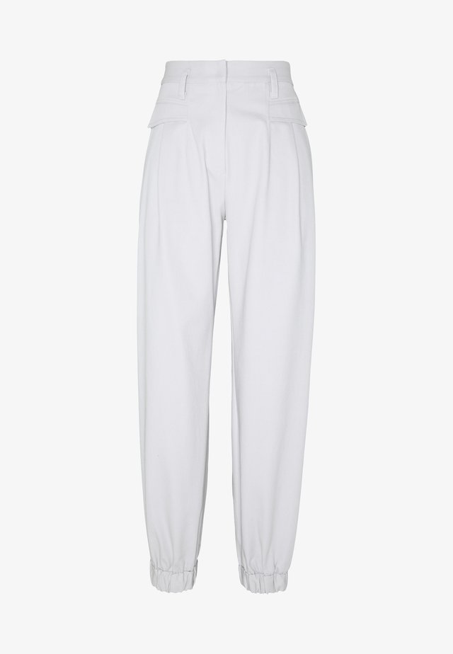CEDRIC PANT - Spodnie materiałowe - silver