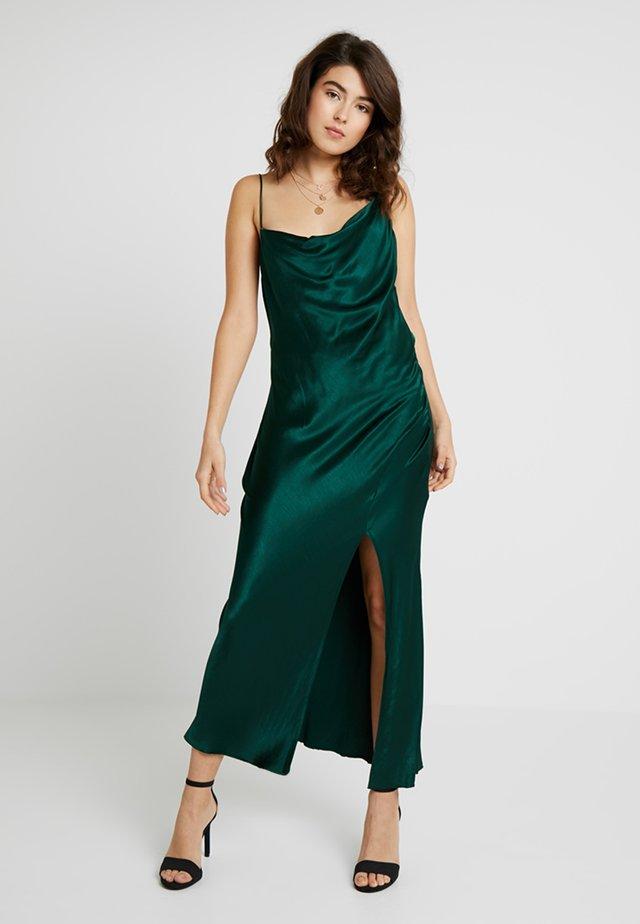 MARTINI CLUB SPLIT DRESS - Ballkleid - emerald