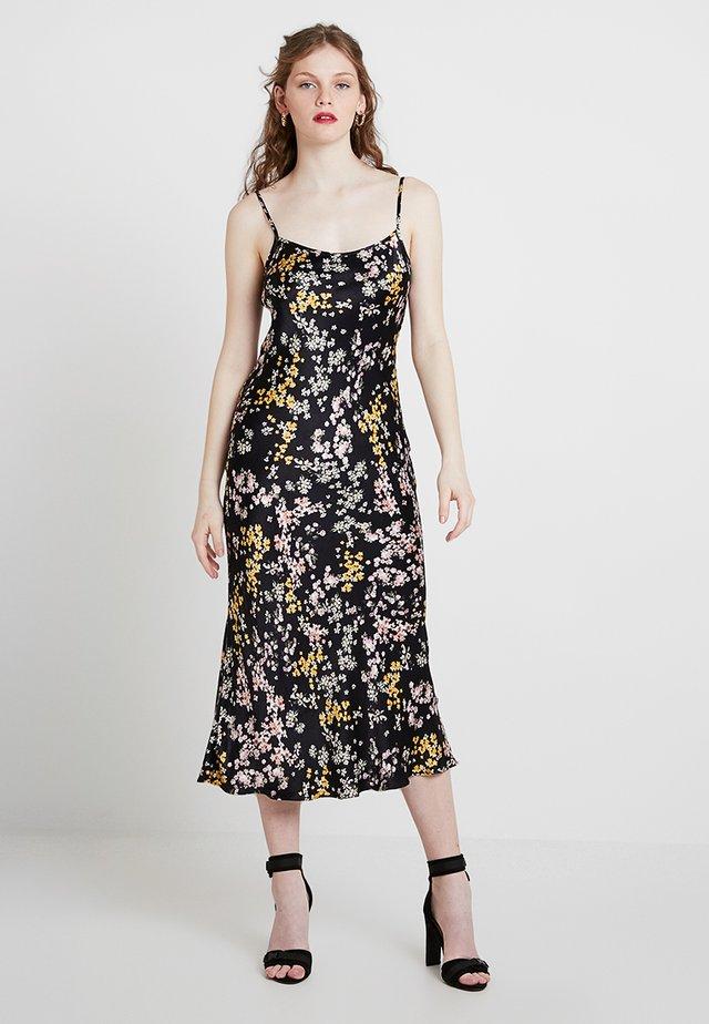 MIDNIGHT DANCE DRESS - Maxikleid - black