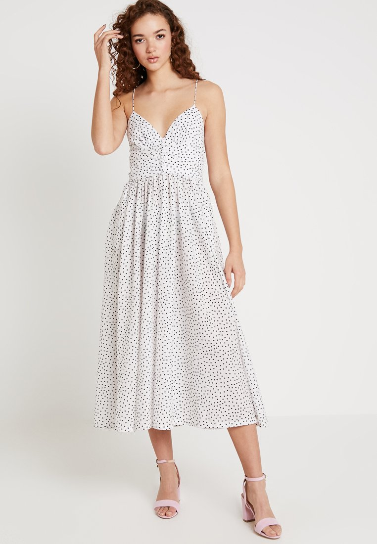 Bec & Bridge - MISS FRENCHIE MIDI DRESS - Freizeitkleid - white