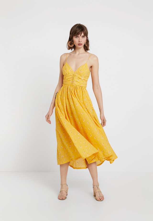 MARIGOLD FIELDS DRESS - Maxikleid - yellow