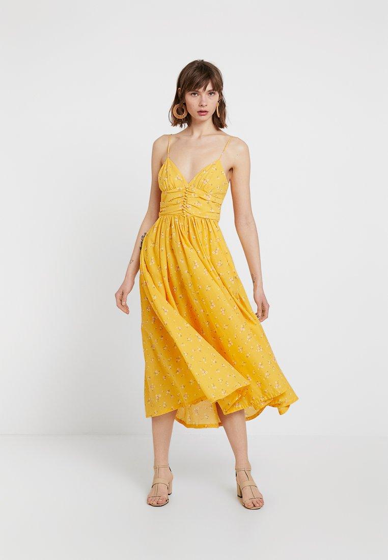 Bec & Bridge - MARIGOLD FIELDS DRESS - Maxi-jurk - yellow