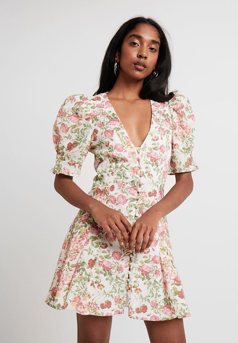 Bec & Bridge - LES FOLLIES MINI DRESS - Shirt dress - camelia