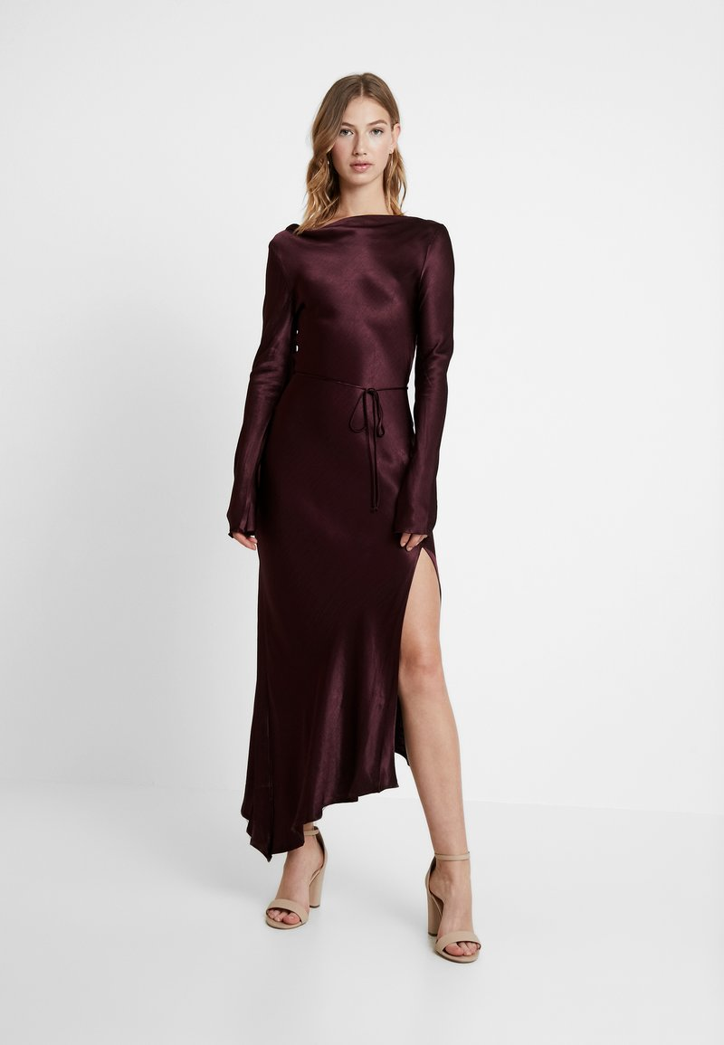 Bec & Bridge - CAROLINE MIDI DRESS - Iltapuku - plum