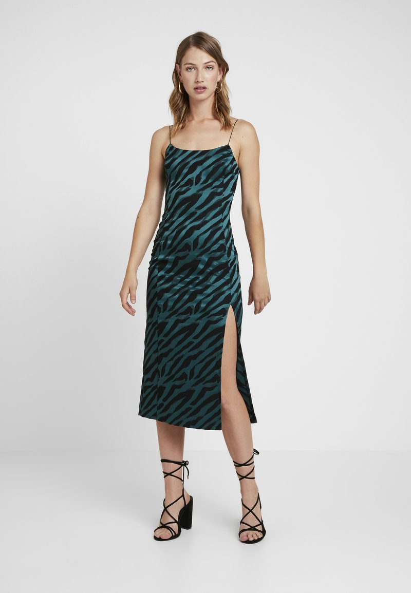 Bec & Bridge - DISCOTHEQUE DRESS - Galajurk - emerald