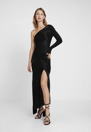 THE KAT ASYM DRESS - Cocktailklänning - black
