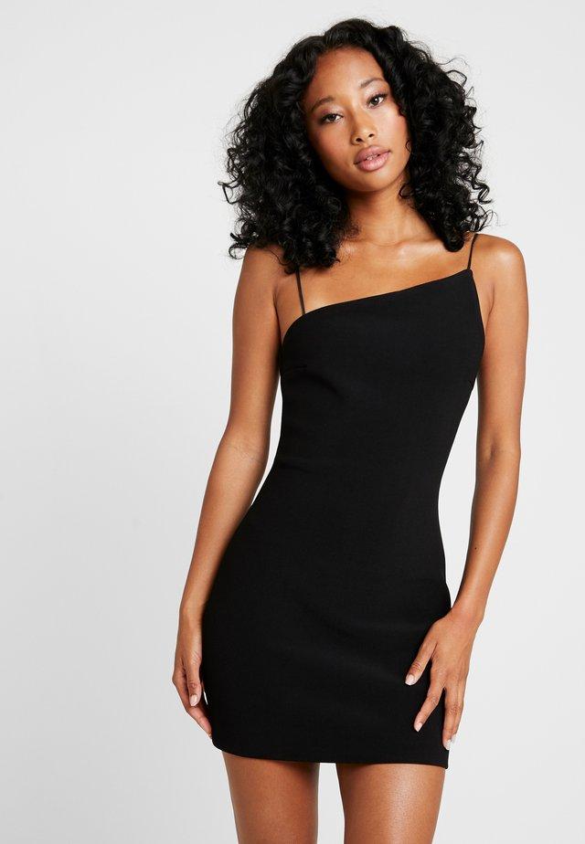 VALENTINE MINI DRESS - Cocktailkleid/festliches Kleid - black