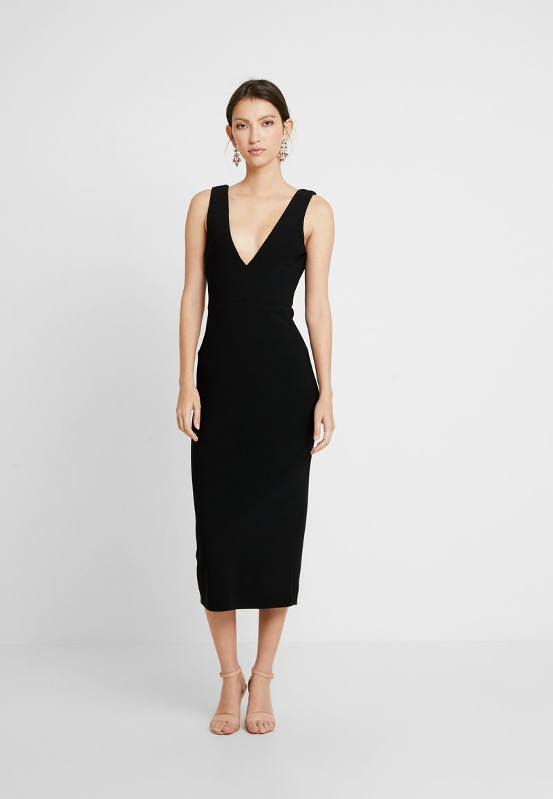 Bec & Bridge - ELKE MIDI DRESS - Fodralklänning - black