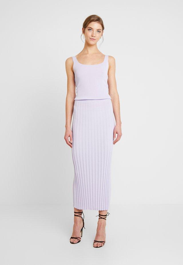 EDEN DRESS - Shift dress - lilac