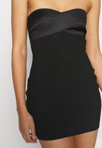 Bec & Bridge - SHORE BREAK MINI DRESS - Cocktailkleid/festliches Kleid - black - 3