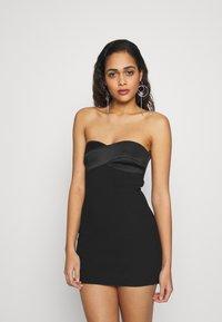 Bec & Bridge - SHORE BREAK MINI DRESS - Cocktailkleid/festliches Kleid - black - 0