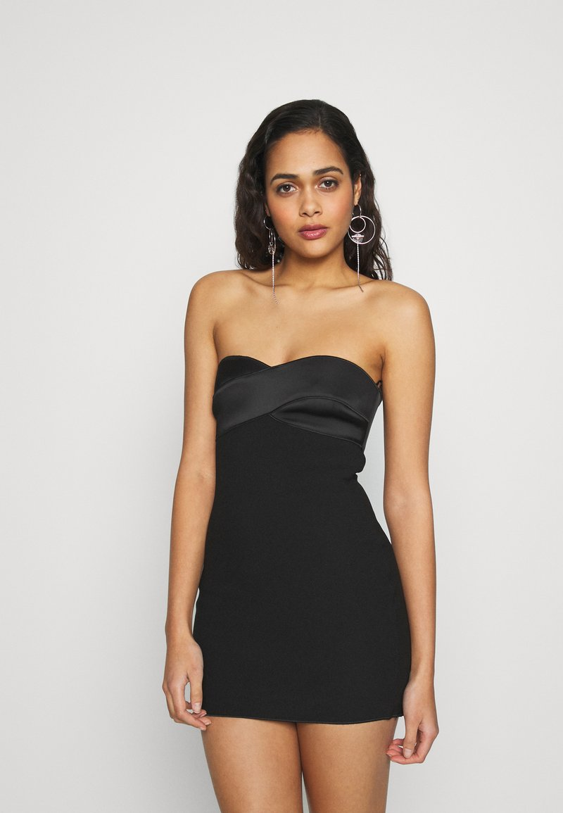 Bec & Bridge - SHORE BREAK MINI DRESS - Cocktailkleid/festliches Kleid - black