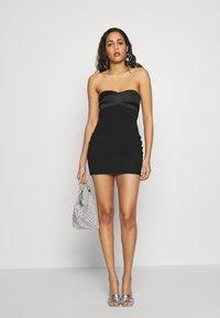 Bec & Bridge - SHORE BREAK MINI DRESS - Cocktailkleid/festliches Kleid - black - 1
