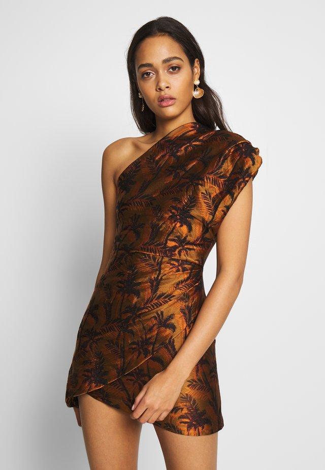 FAR-OUT AYSM MINI DRESS - Sukienka etui - red palm