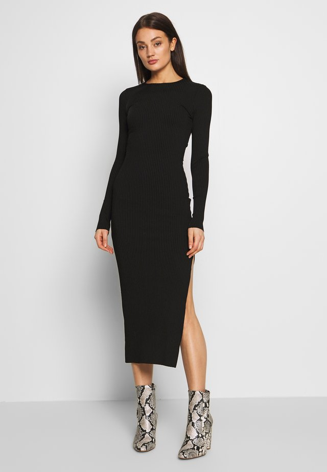 DANIKA MIDI DRESS - Juhlamekko - black