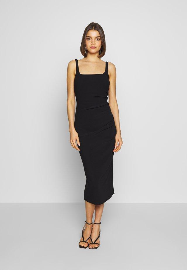 PALOMA MIDI DRESS - Jersey dress - black