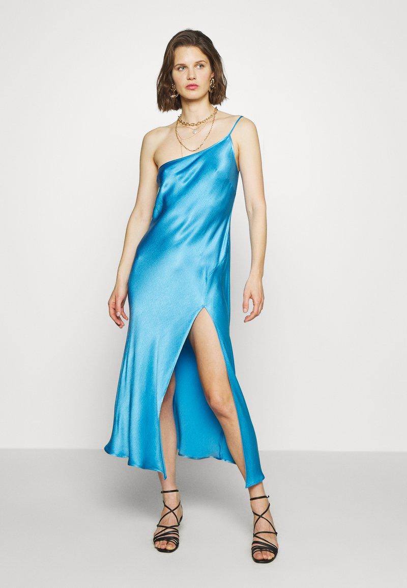 Bec & Bridge - FREDERIC ASYM MIDI DRESS - Cocktailkleid/festliches Kleid - azure