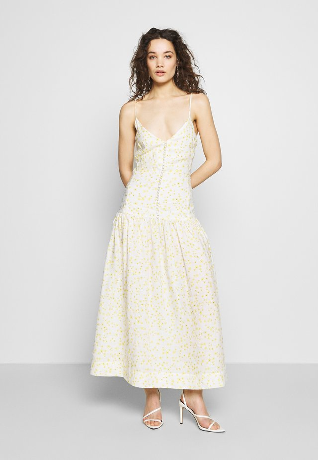 WILD DAISY MIDI DRESS - Maxi šaty - off-white