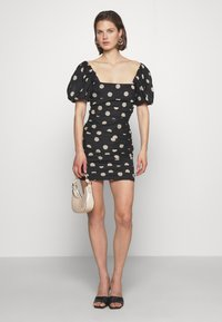 Bec & Bridge - JOSEPHINE MINI DRESS - Cocktailklänning - black - 1