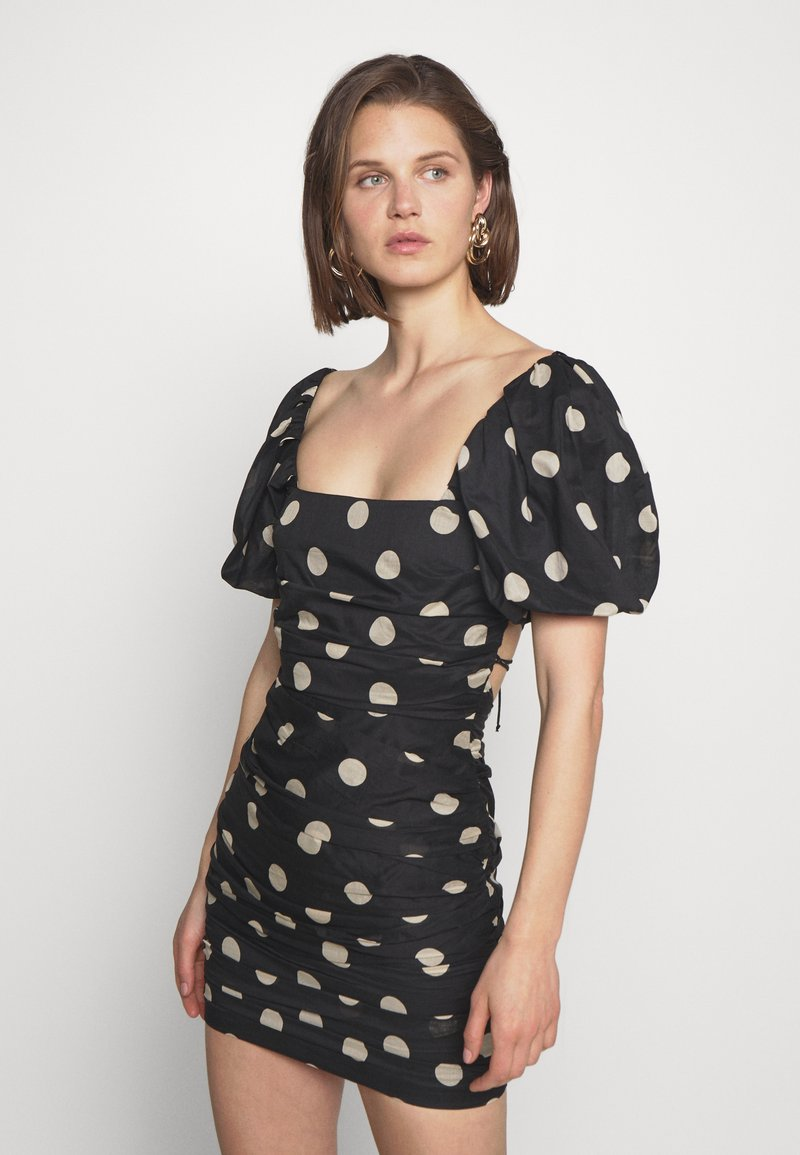 Bec & Bridge - JOSEPHINE MINI DRESS - Cocktailklänning - black