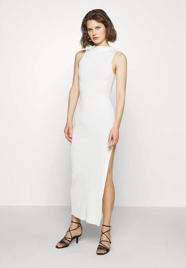 MIDI DRESS - Shift dress - ivory