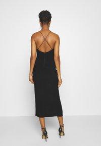 Bec & Bridge - CANDY MIDI DRESS - Shift dress - black - 2