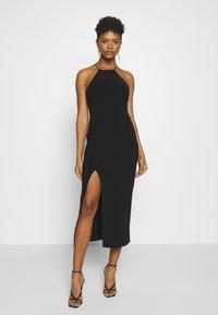 Bec & Bridge - CANDY MIDI DRESS - Shift dress - black - 0