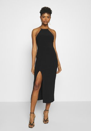 CANDY MIDI DRESS - Shift dress - black