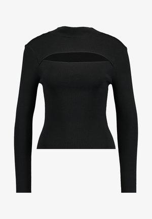 GEORGIE - T-shirt à manches longues - black