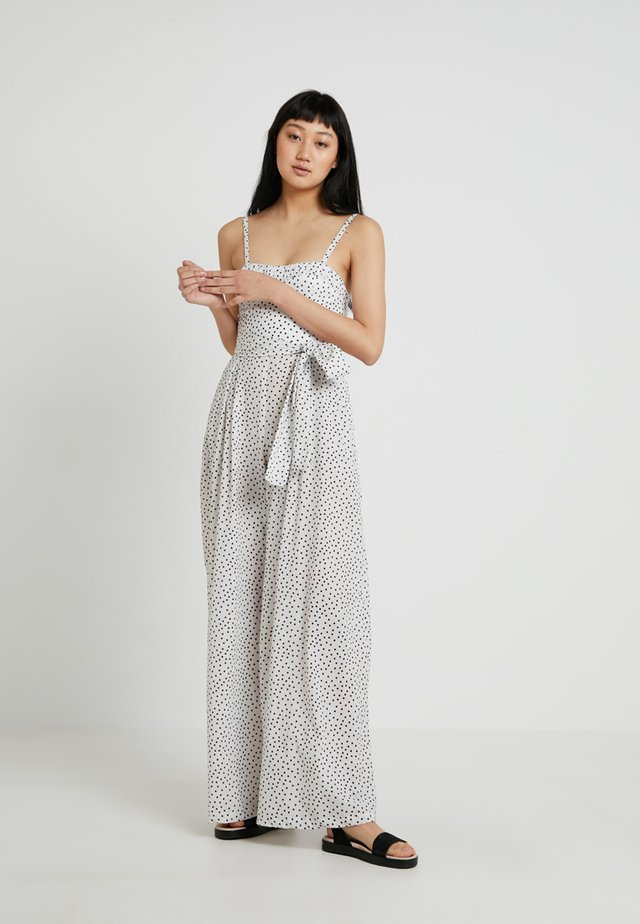MISS FRENCHIE - Jumpsuit - white