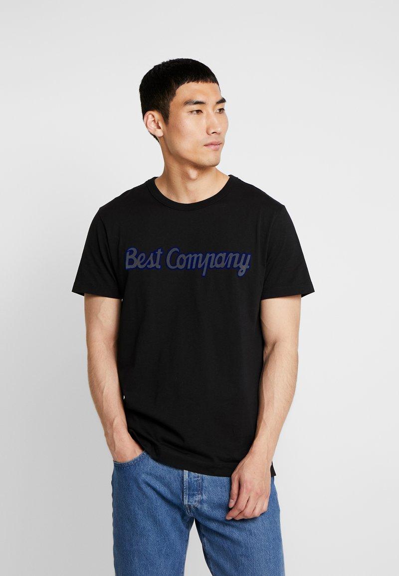 Best Company - BASIC - Printtipaita - nero
