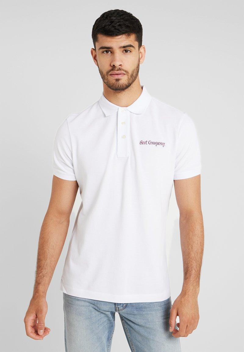 Best Company - BASIC - Poloshirts - bianko