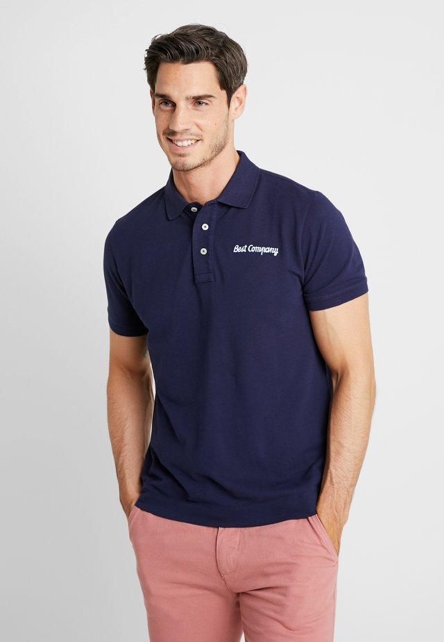 BASIC - Polo - navy