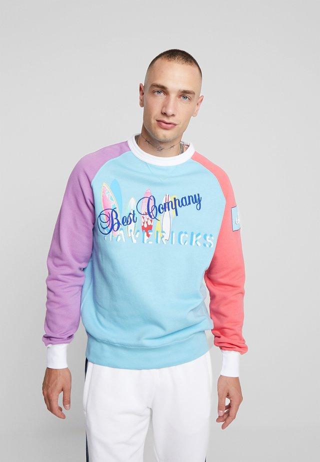 COLOR BLOCK  - Sweatshirt - cielo