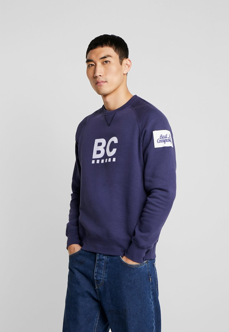 Best Company - CREW NECK RAGLAN - Sweatshirts - navy