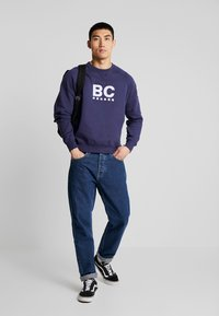 Best Company - CREW NECK RAGLAN - Sweatshirts - navy - 1
