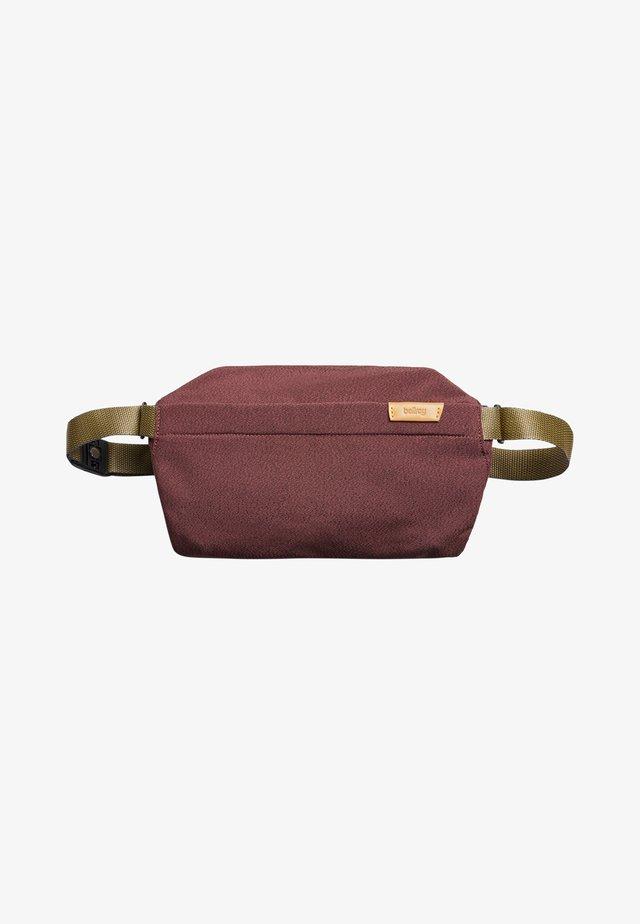 Bum bag - red earth