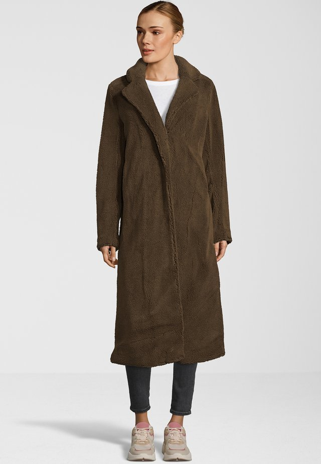 KIMI - Classic coat - dark brown