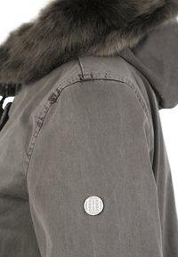 Blonde No. 8 - CREEK - Winter coat - frost grey - 3